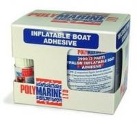 Adhesivo Polymarine 2 Componentes para Hypalon 250ml - Adhesivo 2 componentes con endurecedor para adhesiones de alta resistencia..   Se utiliza en la fabricación de neumáticas y para reparaciones duraderas..   Adhiere al Hypalon, Neopreno, caucho natural y sintético, y al cuero. No adhiere al PVC