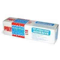 Adhesivo Polymarine para PVC 70ml - Adhesivos de un solo componente, para reparaciones rápidas. .   Adhiere al PVC, Dynalon (Zodiac/Bombard), Strongon, Hypertex (Narwhal/Valiant). No adhiere al Hypalon, ni al caucho. .   Excelente resistencia al calor y a las condiciones marinas.