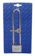Candado Marino 40mm con asa larga de 150 mm - Candados Marinos de acero inox.   Arco de acero inox 316 con cuerpo de latón cromado, muelle de acero inox.  Ancho: 40mm.   Arco: 150mm