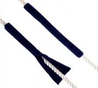 Fundas para amarras - 2 Unidadas - Protegen los cabos y el gelcoat de los roces..   Tejido 100% acrílico resistente a los U.V..   Cantidad: 2 unidades