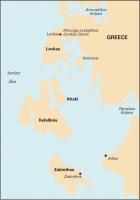 Carta Náutica Imray G12 - Nísos Levkas to Nísos Zákinthos