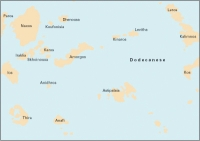 Carta Náutica Imray G34 - Southeastern Cyclades - Carta náutica G34. Southeastern Cyclades - (Sheet 2 - East).   Edición inglesa.   Escala 1: 190.000
