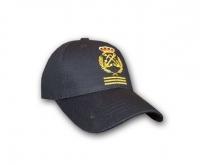 Gorra Capitan de Yate - Visera pre-curvada y bordados realizados en alta definición con inmejorable calidad.