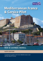 Mediterranean France and Corsica Pilot - Rod & Lucinda Heikell - A guide to the French Mediterranean coast and the island of Corsica.   6ª Edición Inglesa 2017.   394 páginas .   21 x 30 cm .   Encuadernación: Tapa dura