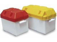 Caja para baterias - De polietileno de alta resistencia. Protege eficazmente las baterías de la humedad y la corrosión