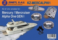 Kit Anodos Mercury-Mercruiser Alpha One GEN I