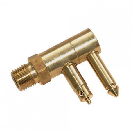 Conector Deposito Macho, Mercury - Mariner - Conector Macho para deposito combustible.   Válido para motores Mercury y Mariner