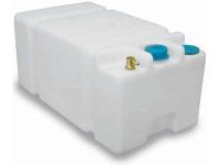 Deposito Rigido SHARK para Agua Potable. Capacidad 45, 56 o 70 L - Depósito de polietileno blanco para almacenar agua potable a bordo..   Capacidad: 45, 56 o 70 Litros, según modelo.