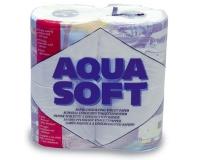 Papel para WC quimico - Papel higiénico que se disuelve rápidamente. Evita las obstrucciones..   Absorbe bien y muy suave. Se suministra en packs de 4 unidades.