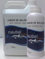 Jabon de baldeo sin ceras Nautiel - Producto profesional de nueva generación y con más poder de limpieza para lavados frecuentes de cubiertas.