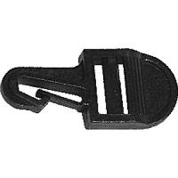 Hebilla para cincha sujeción de toldo - Accesorios para todillos.   Paracincha de 25mm de ancho.   Material plástico