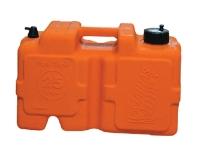 Deposito de Combustible - Modelado en una sola pieza de polietileno para máxima durabilidad..   No se oxida, para uso con motores fueraborda..   Capacidad: 25 L..    Dimensiones: 48 x 28 x 28 cm.