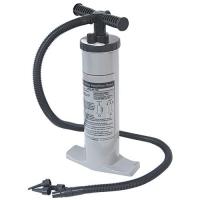 Bomba de mano de doble accion - Una bomba de doble acción para inflar o desinflar su neumática o cualquier otro artilugio hinchable.