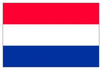 Bandera Holanda - Confeccionadas en tejido de poliéster brillante, estampado con colores sólidos y nítidos.