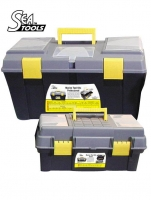 Kits de Herramientas Marino SeaTools - Muy útiles para las reparaciones mas comunes a bordo. Equipados con una útil gama de herramientas como llaves, destornilladores, alicates y mas seran valiosos en cubierta, en la sala de maquinas o en la cabina....   Kit compuesto por 28 piezas.