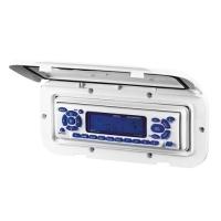 Tapa Estanca para Radio - Tapa estanca para radio marina, en color blanco opaco o ahumado transparente.