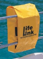 Life-Link Sistema de Rescate M.O.B. - El sistema de rescate LIFE-LINK se ha diseñado para estar montado permanente sobre el balcón de popa.
