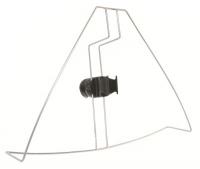 Soporte Para Boya Herradura y Luz - Fabricado íntegramente en acero inoxidable. Fácil de instalar en cualquier embarcación. Permite un fácil  despliegue de la boya y luz flotante en caso de emergencia.