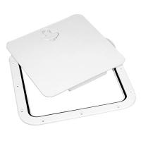 Tambucho de Acceso con tapa desmontable 380x380mm - Tambucho de Acceso con tapa desmontable, color blanco.