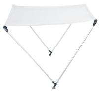 Toldo de Aluminio Anodizado - >Estos toldillos de precio competitivo se diseñaron para proporcionar sombra en embarcaciones rígidas y neumáticas abiertas.
