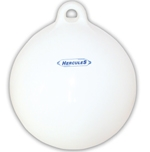 Defensa esferica Hercules color Blanco 32 x 39 cm - Defensa esférica Hércules color Blanco.   Medida: 32 x 39 cm  Servida sin hinchar