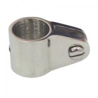 Deslizador Inox para Toldo o Bimini - Accesorios para todillos.   Abrazadera / Deslizador Inox de Ø 22 o 25mm para Toldo.   Fabricado en acero inoxidable.
