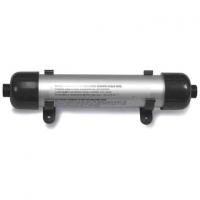 Filtro Anti-olor para depositos de aguas negras - Filtro de carbón activo para ventilación de los depósitos de aguas negras..   Soporte y terminales para manguera de 16/19mm.,.   Largo: 200mm..