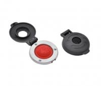 Interruptor de pie, para Molinetes Lofrans - Interruptor de pie, con tapa protectora, para Molinetes Lofrans.   Fácil de instalar.   Base de inox y tapa de composite.   El botón de caucho es resistente a los UV y al agua de mar.   Estanco IP67..