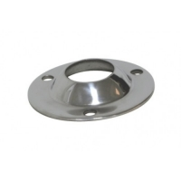 Base Redonda Inox 316, Recta 90°