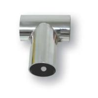 Conector T 90° Diam. 25mm, Inox 316 - Conector T 90 Grados Diam. 25mm, Inox 316.   Fabricado en acero inoxidable AISI 316.   Unión T recta con ángulo de 90º.   Grosor: 1mm.   Tubo Ø Int. 25 mm.