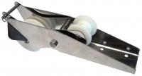Puntera de proa basculante INOX 316 - Puntera para proa basculante, fabricada en acero inoxidable AISI-316. Para cadena de 6-8-10 mm.  Para ancla hasta 14 kg