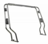 Arco para Neumaticas AISI 316 - Fabricados en acero 316, desmontables para el transporte..   Tubos de 38mm, ajustables telescopicamente.   Ancho: De 1560 a 2060mm