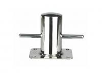 Bita Inox 316 - En acero inoxidable AISI 316 pulido. Fijación mediante 4 tornillos..   Dimensiones:.   Largo (mm): 120.   Alto (mm): 95.   Ancho (mm): 120.   Diámetro (mm): 60