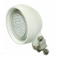 Foco de cubierta 54 LEDs 12V - Luz LED exterior para embarcaciones y autocaravanas. Soporte de Acero Inoxidable y resistente a la intemperie.