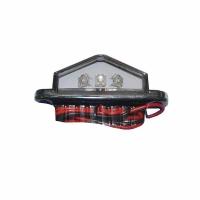 Luz exterior 3 LED 12V & 24V - Ideal para iluminar indirectamente escalones y pasillos..   Dimensiones: 90x32x20 mm.   Color de carcasa: Blancoo Cromado