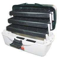 Caja de Pesca SF60 - Caja de pesca con 3 bandejas, especial para almacenar jigs o cebos..   Tamaño: 50,3 cm (largo) x 25 cm (ancho) x 25,5 cm (alto)