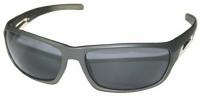 Gafas de sol TR90 polarizadas 1.00mm gris - Gafas de sol TR90.   Estas nuevas gafas de sol son el fruto de varios años de experiencia en este sector. El material TR90 usado en la montura de las gafas hace que estos sean fuertes, que puedan soportar grandes variaciones de temperatura y un uso mas duro. Las lentes son polarizadas. Su cómodo diseño y altas especificaciones las hacen ideal para uso deportivo.