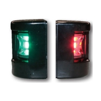 FOS LED 12. Juego Luces de Babor y Estribor, montaje lateral 112.5º