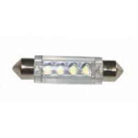 Bombilla 12V LED para Luces de navegacion - Bombilla  LED para luces de navegación de 12V, para embarcaciones de eslora inferior a 12 m..   T11 41mm, blanco - 4 LEDs.   Servida por unidad