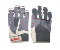 Guantes cortos de Maniobra Amara - Los guantes Amara son para uso en actividades marinas o terrestres. Se fabrican usando cuero amara, neopreno, una tela durable y un ajuste de velcro.