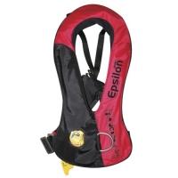 Chaleco Salvavidas Hinchable Epsilon 150N, ISO 12402-3 con inflador HAMMAR MA1 - El chaleco salvavidas inflables Epsilon life proporciona una protección optima permitiendo una libertad de movimiento optima...