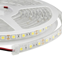 AquaLED Cinta LED 3m, resistente al agua, 12V, DC - Cinta flexible PCB con 60 LEDs / m..   - Longitud: 3 m.   - Ancho: 11 mm.   - Luz color: Blanco calido.