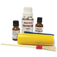 Kit Hercules para reparacion neumaticas TPU/PVC/EVA - Indicado para pequeñas reparaciones en lanchas neumáticas, semirrígidas, inflables, balsas o accesorios de TPU/PVC/EVA