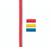 Cabo Wind-Surf - Poliester de alta tenacidad. Con proteccion UV. Disponible en varios colores, es también útil para astas de banderas..   Precio por metro.   Cantidad mínima 5 mts.
