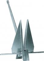 Ancla tipo Danforth - Ancla tipo Danforth de plancha de acero galvanizado.