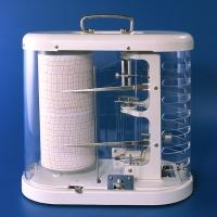 Termógrafo-Higrógrafo FISCHER -15+65º  0-100% hr - Registrador de la Temperatura y Humedad relativa del Aire.
