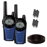 Pack walkie Cobra MT975-2 VP - Hasta 12 km. de alcance. 968 Combinaciones Privadas de Comunicación son posibles cuando los 8 canales se combinan con sus 121 canales privados, reduciendo posibles interferencias.