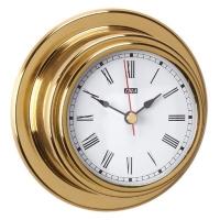 Reloj Standard Case Esfera 70 mm - Reloj Standard Case números romanos.   Caja de latón pulido y lacado..   Esfera 70 mm.   Base 95 mm.   Altura 40 mm