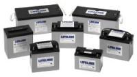 Baterias de servicio Lifeline AGM de 33 a 255Ah - Lifeline ofrece una gama de baterías que utilizan la tecnología AGM, con unas características superiores a las baterías de gel y unos precios similares o inferiores.
