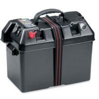 Kit de movilidad multifunción Minn Kota para baterias electricas - Este kit se compone de una caja donde se aloja la batería, permitiendo su cómoda  transportabilidad.